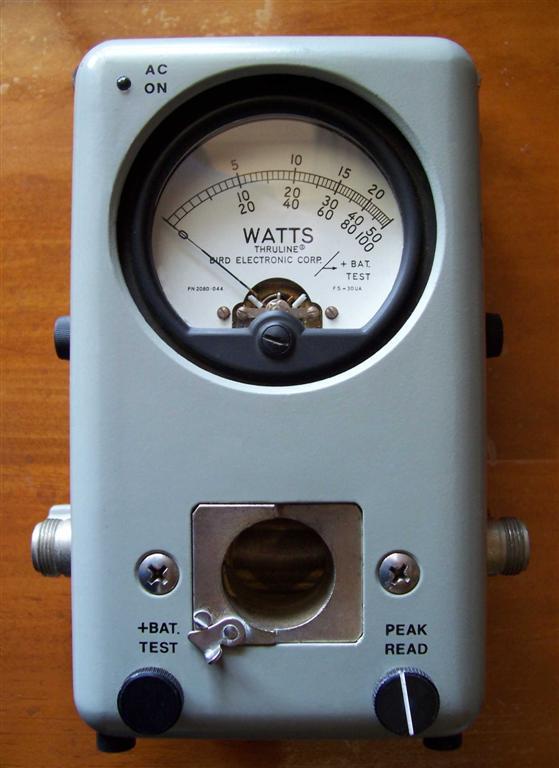 Rf Power Meter : Bird rf power meter information