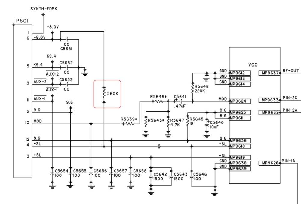 Spectra VCO Mod 2 motorola spectra vco modification Motorola Alternator Wiring Diagram at gsmportal.co